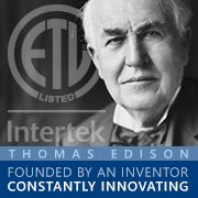 Thomas Edison Founder of ETL Certification