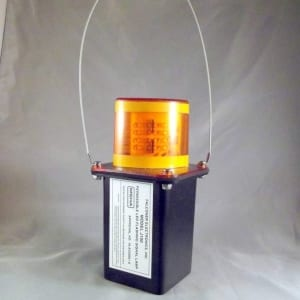 Amber LED Mine Light