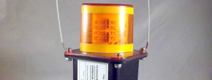 Amber LED Mine Light