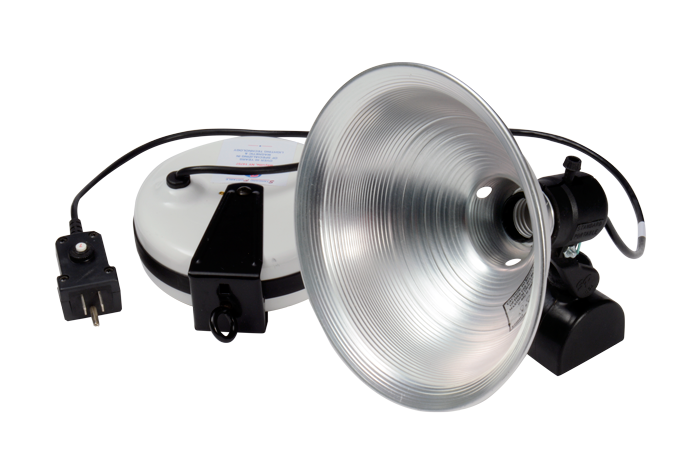 "Magnetic 9"" Spot Light with 20' Retractable Cord Reel"
