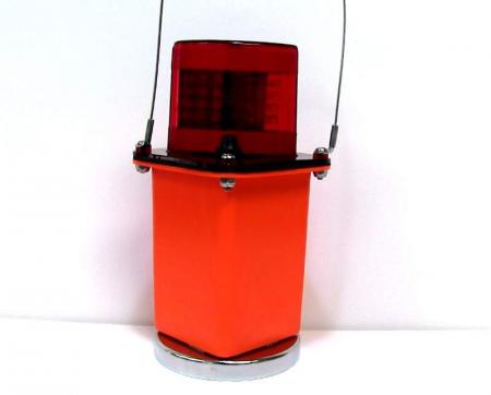 Red LED Flashing Light w/Magnet