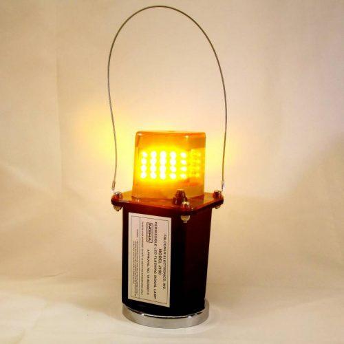 J100-03M Magnetic Amber LED Mining Light