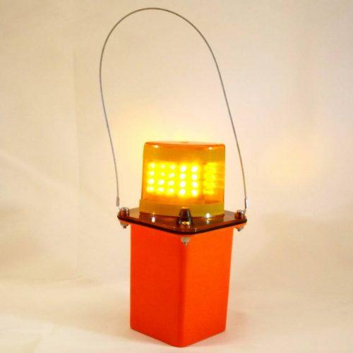 Amber LED Flashing Light
