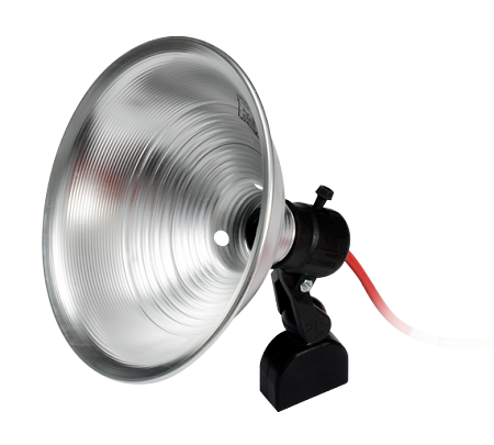 "Magnetic 9"" Reflector Light w/25' Cord"
