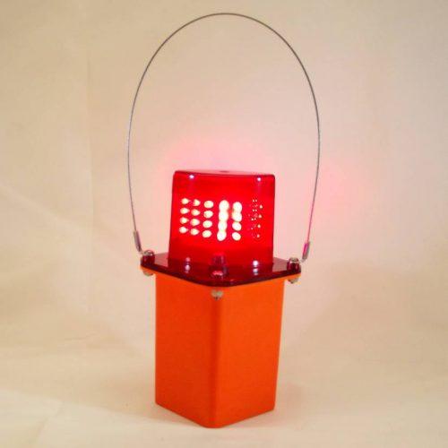 Red LED Flashing Light
