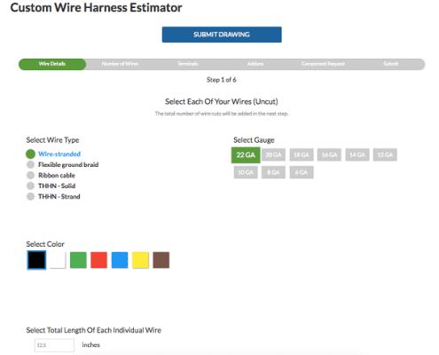 , Wire Harness Estimator