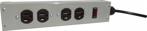 4 Outlet Commercial Power Strip