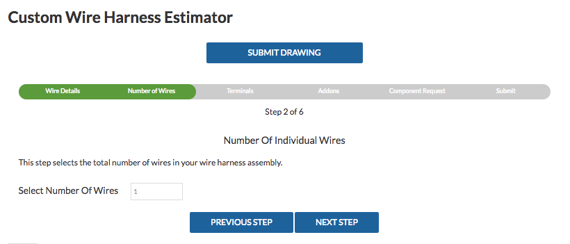 Wire Harness Estimator