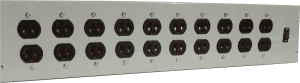 20 Outlet Commercial Power Strip