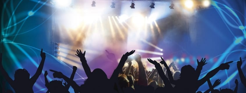 concert lighting and effects