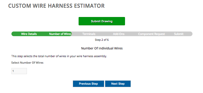 Wire Harness Estimate