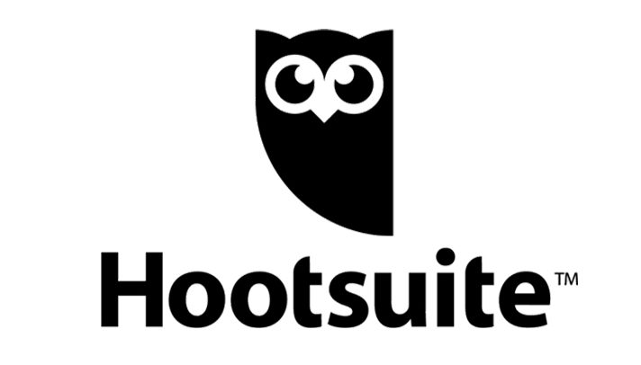 Hootsuite logo with bird, social media