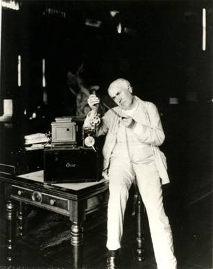 Thomas Edison as an adult