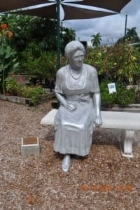 Mina Miller Edison Statue one of her many achievements