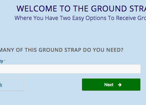 Ground Strap Express, The Ground Strap QuoteBuilder = Fast & Easy