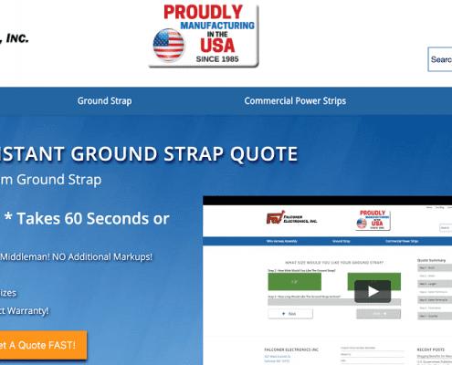 QuoteBuilder, Instant Ground Strap QuoteBuilder: When in Doubt – Ground It!