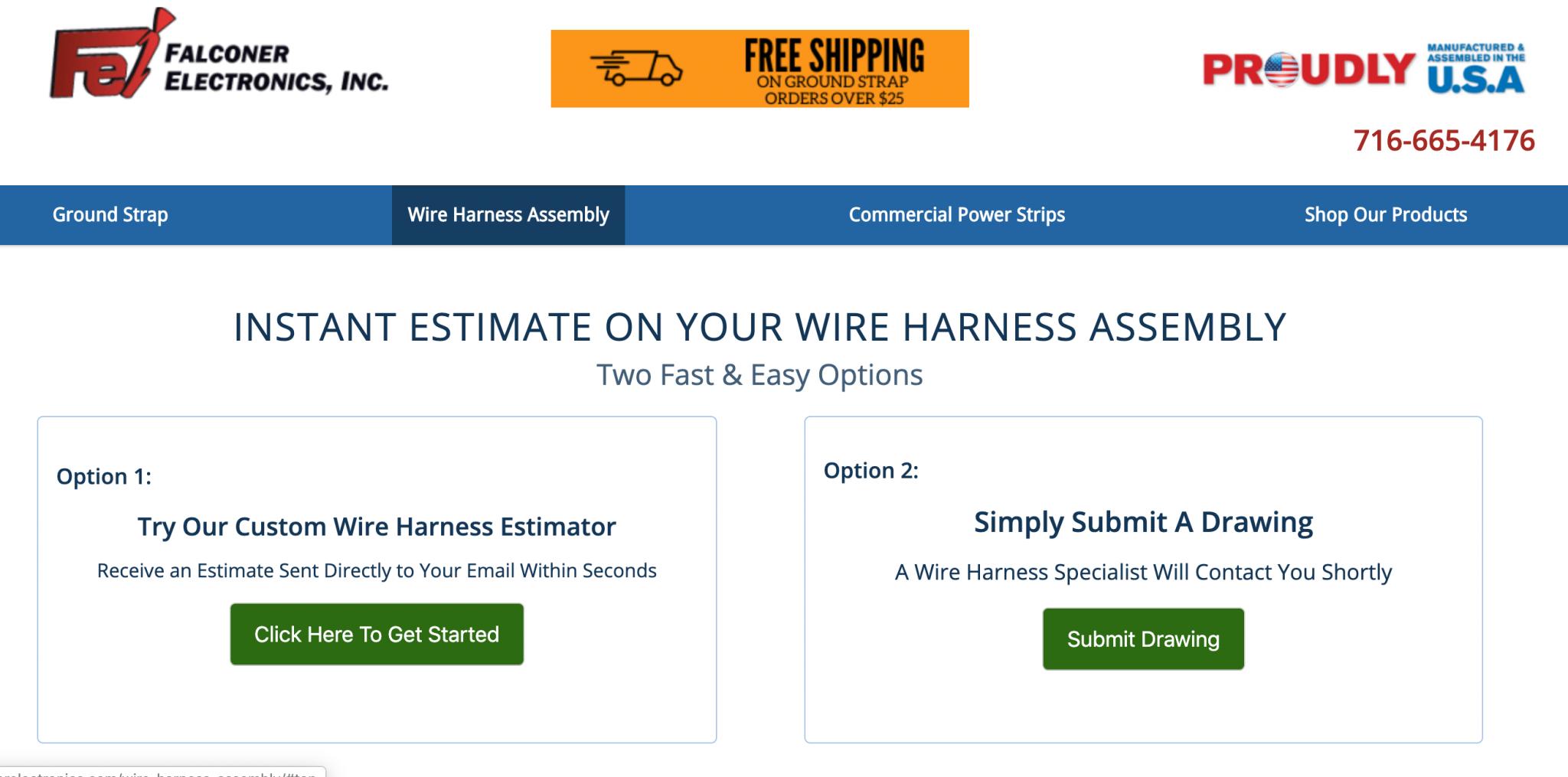 Wire Harness Estimator, Falconer Electronics Wire Harness Estimator: A Step by Step Guide