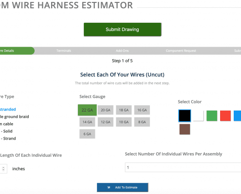 Wire Harness Estimates