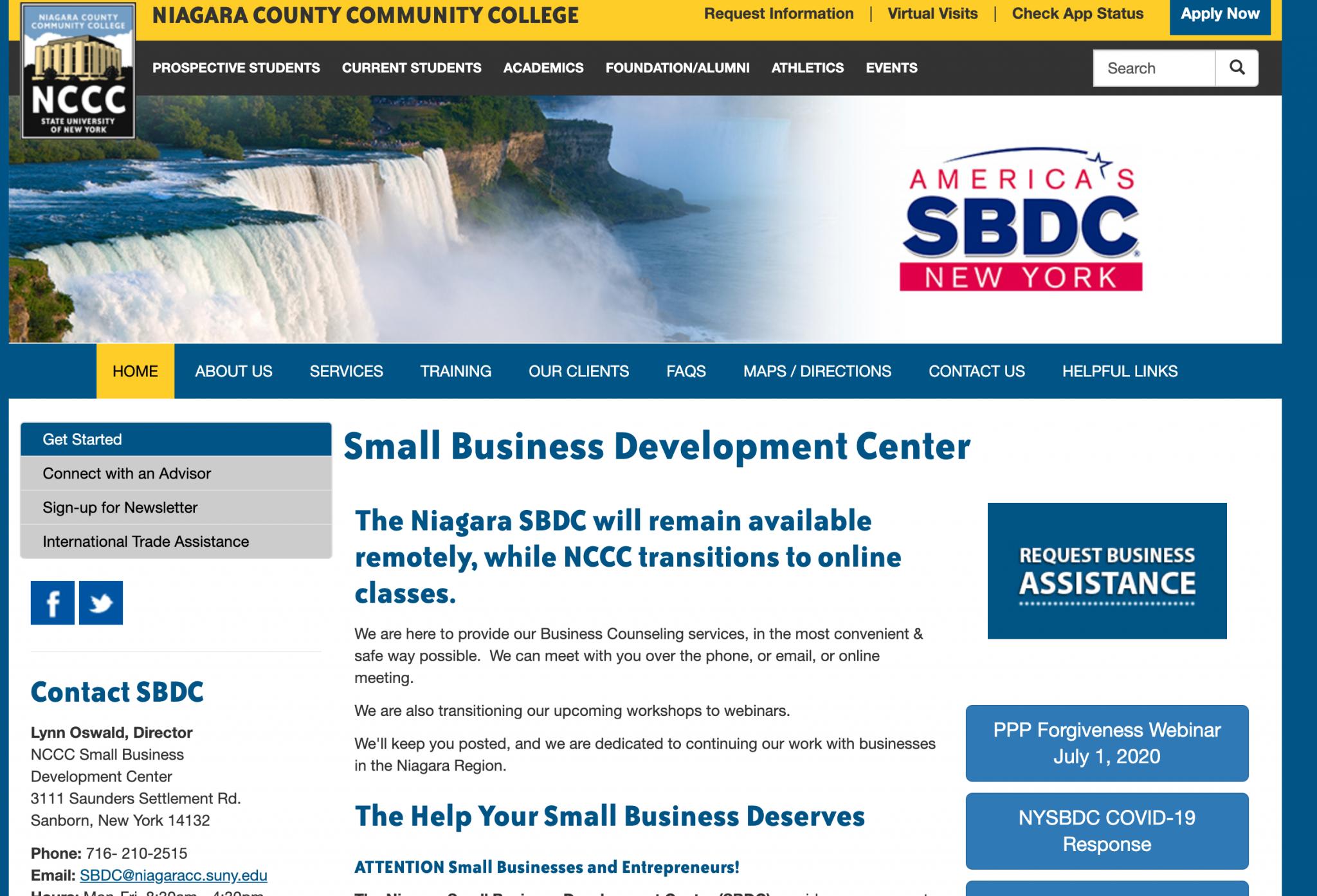 Niagara SBDC
