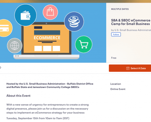 SBA eCommerce Boot Camp