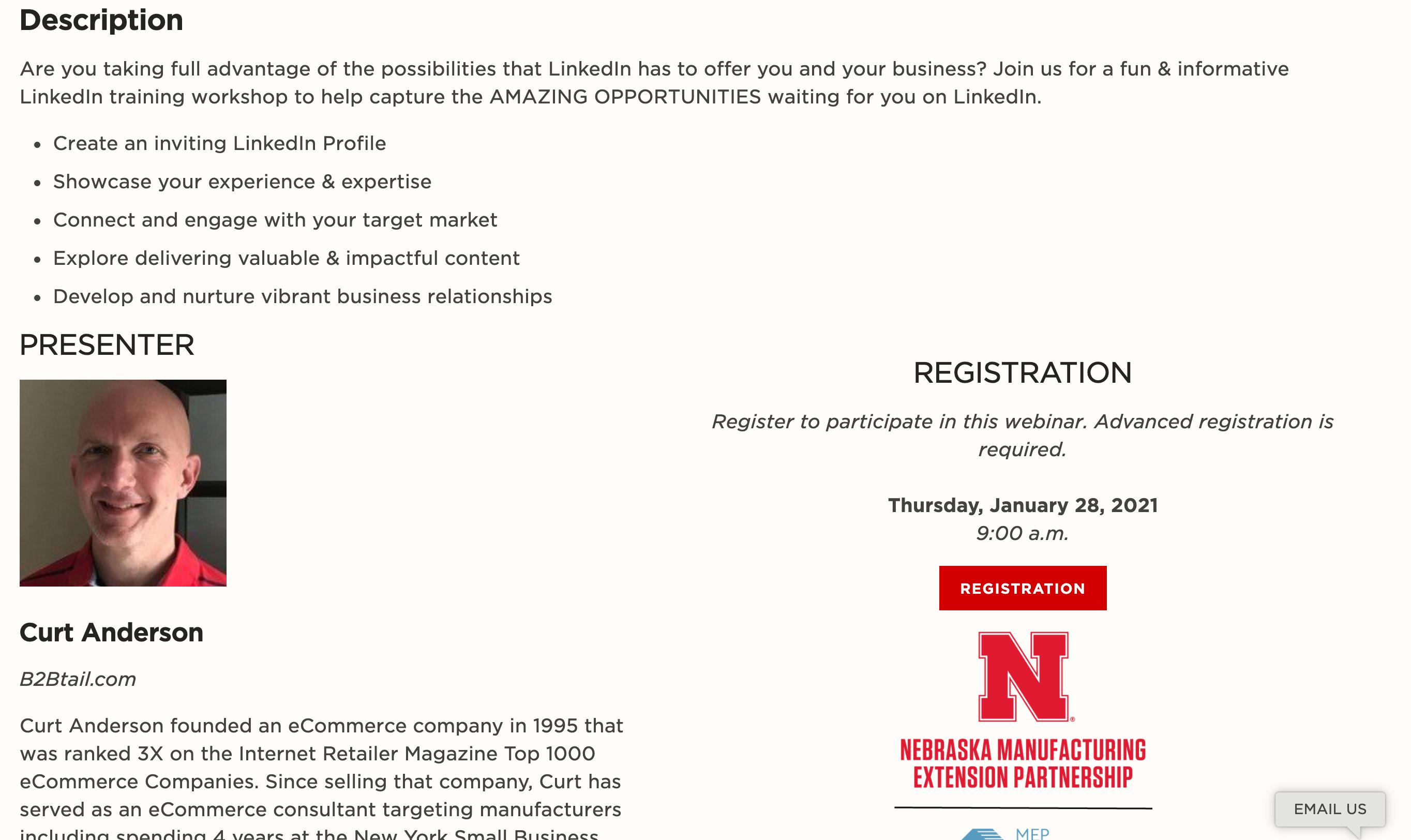 University of Nebraska MEP, Falconer Electronics Featured in University of Nebraska MEP LinkedIn Workshop