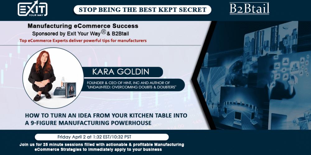 Hint, Kara Goldin of Hint Water: The Undaunted CEO & Manufacturing Powerhouse