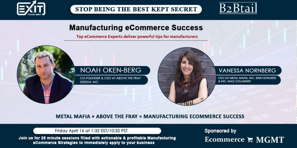 Above the Fray, Metal Mafia + Above the Fray = Manufacturing eCommerce Success