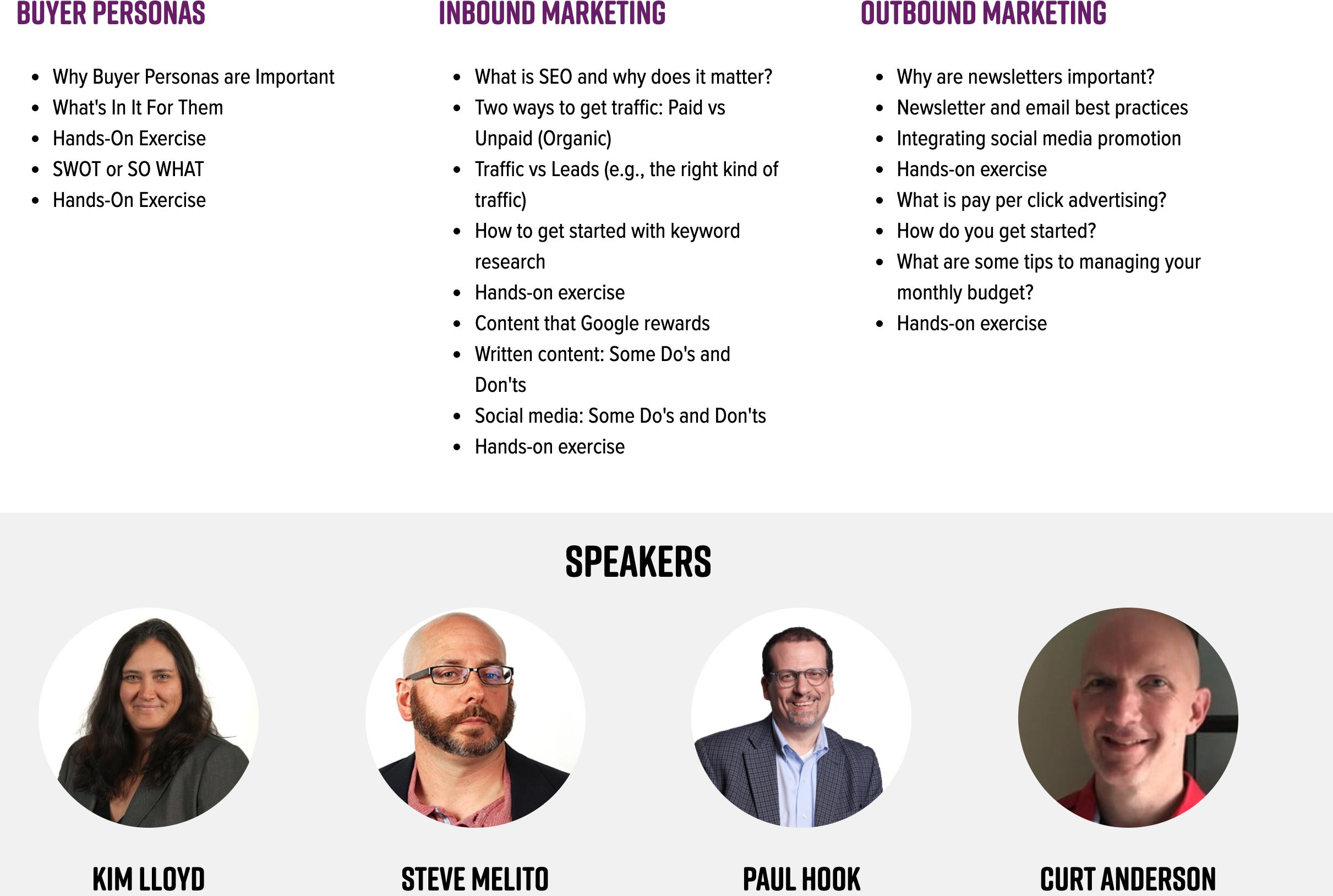 NY MEP, FuzeHub (NY MEP) Offers Marketing Workshop Featuring Falconer Electronics