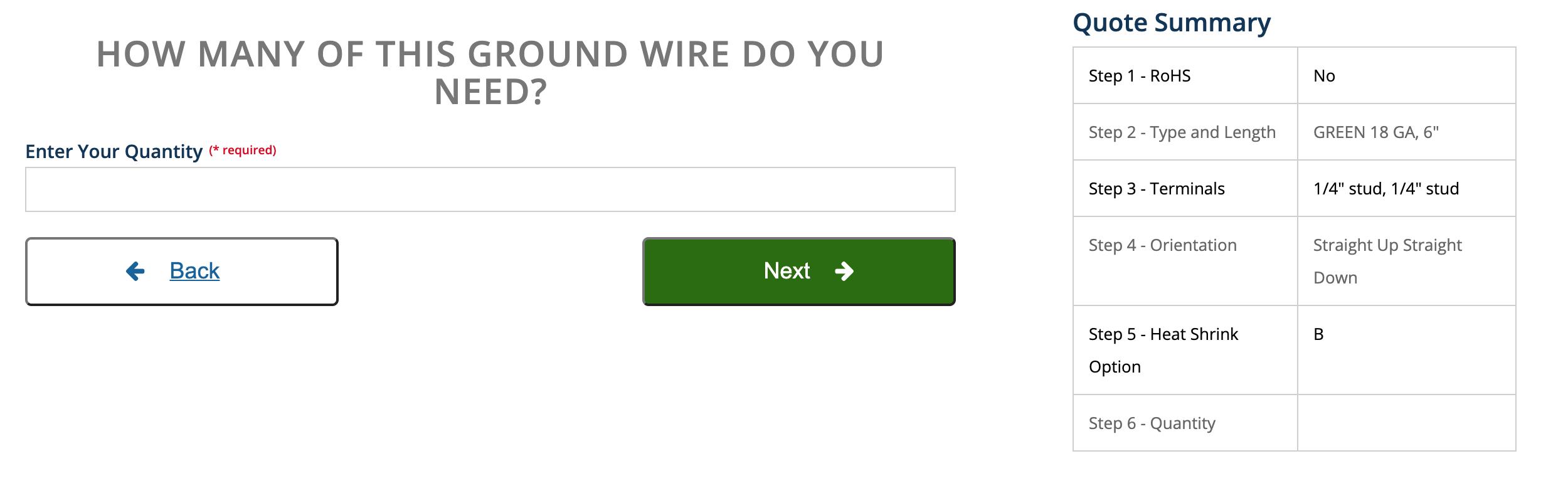 Instant Ground Wire QuoteBuilder, Falconer Electronics Strikes Again! Instant Ground Wire QuoteBuilder